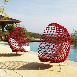 Dragnet Lounge Chair van Kenneth Cobonpue