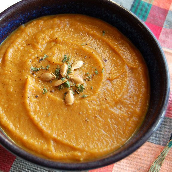 World's Best Roasted Butternut Squash Soup- this soup is my favorite ...