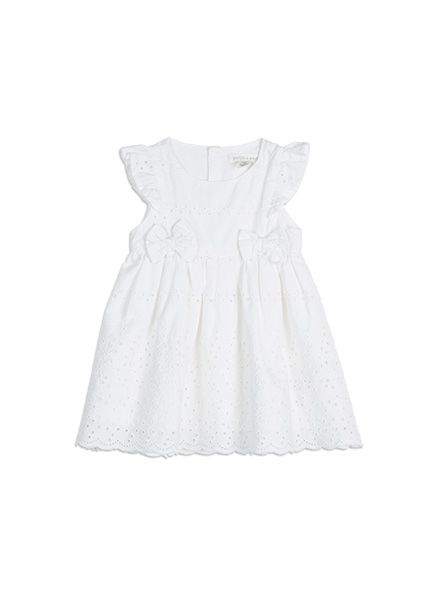 Pumpkin+Patch+-++-+broiderie+anglaise+dress+-+S5BG80014+-+clean+white+-+0-3m+to+12-18m