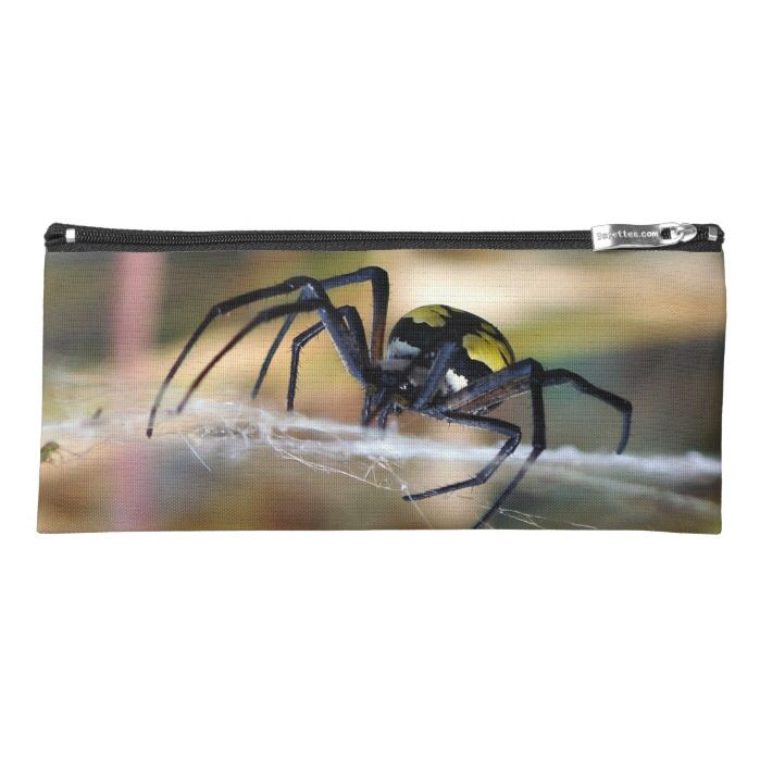 Black & Yellow Argiope Garden Spider Pencil Case