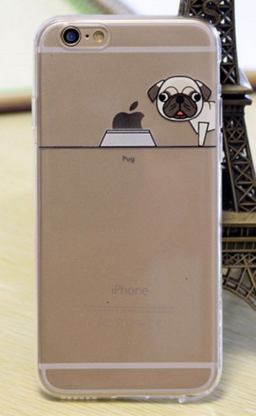This cute Pug iPhone case is a great addition to your Pug collection. Available for iPhones 5 and up.  Please allow 10-20 days for shipping.