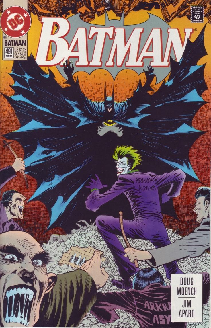 Batman #491 - DC Comics - Knightfall Prelude 1993
