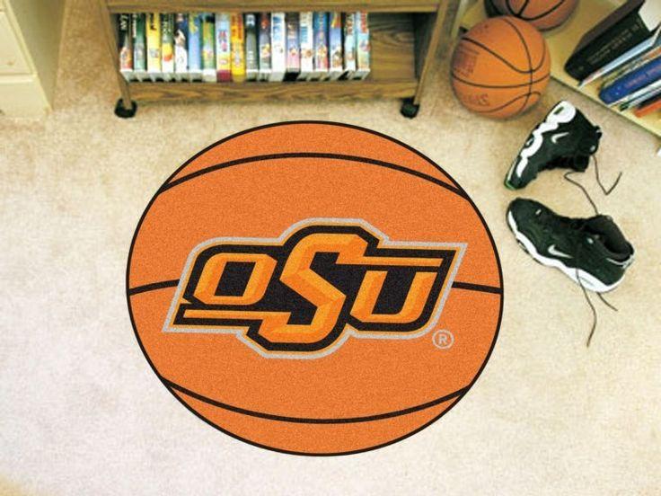 Oklahoma State University Basketball Mat