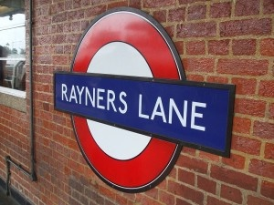Rayners Lane Tube Station in London #London #stepbystep