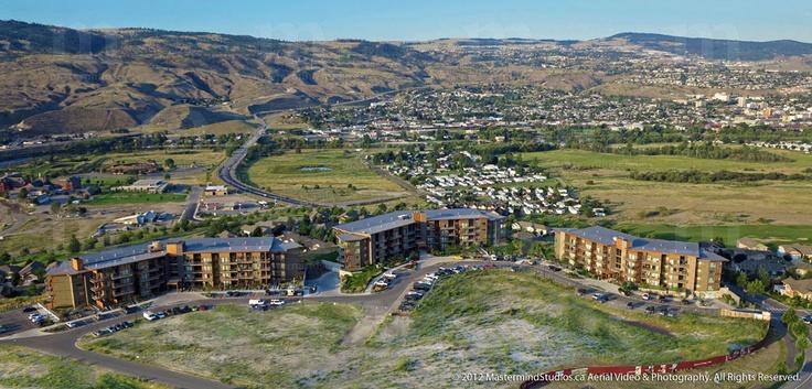Kamloops Aerial Photo, North Shore. Talasa Development.