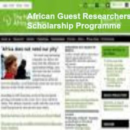 African Guest Researchers Scholarship Programme at Nordic Africa Institute , and applications are submitted till 1 April 2015. The Nordic Africa Institute is offering Guest Researchers' Scholarship for African scholars to pursue their own research projects at NAI – Africa. - See more at: http://www.scholarshipsbar.com/african-guest-researchers-scholarship-programme.html#sthash.Rl2TiBhE.dpuf