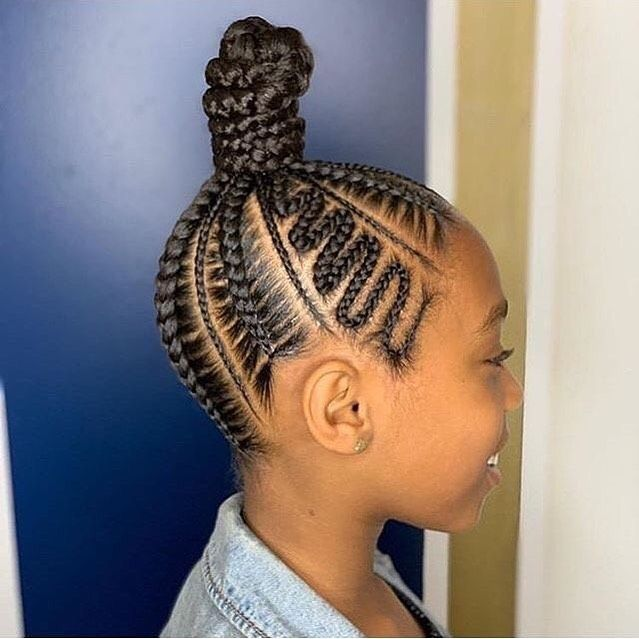 150 Awesome African American Braided Hairstyles Hair Styles Braided Hairstyles Kids Hairstyles