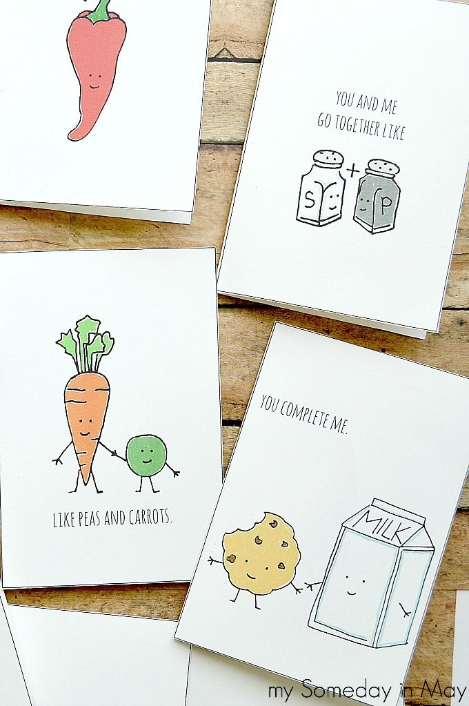 Quirky Love Cards   Diy christmas gifts funny, Diy gifts ...