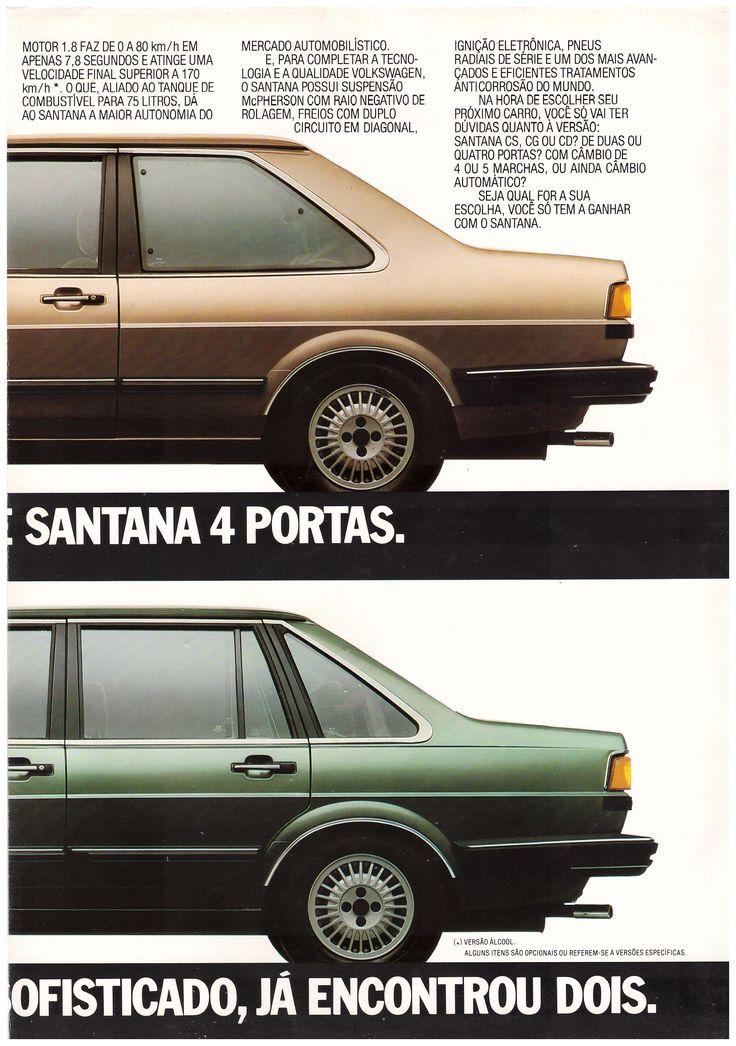 catálogo volkswagen santana 1.984.3