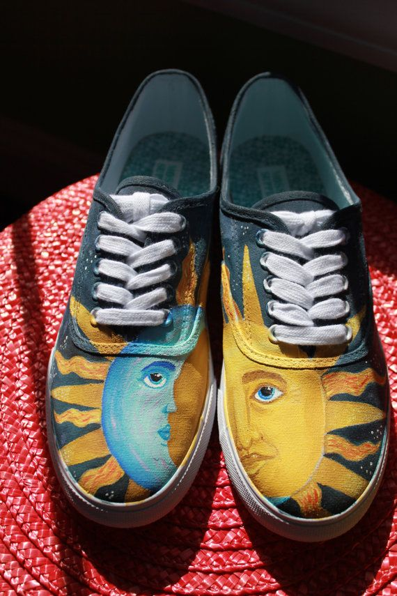 Custom Painted Keds-Style Shoes (Made to Order). $65.00, via Etsy.