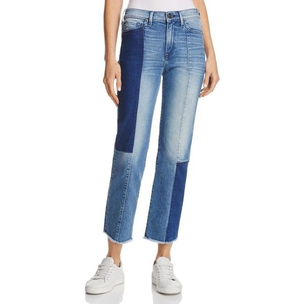 True Religion Cora Straight Crop Jeans in Sand Sculpture ($245) ❤ liked on Polyvore featuring jeans, sand sculpture, blue jeans, true religion jeans, true religion, cropped jeans and straight leg jeans
