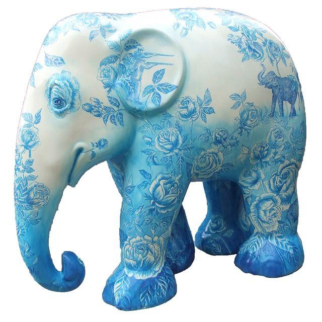 Free Image on Pixabay - Elephant Parade Trier, Elephant
