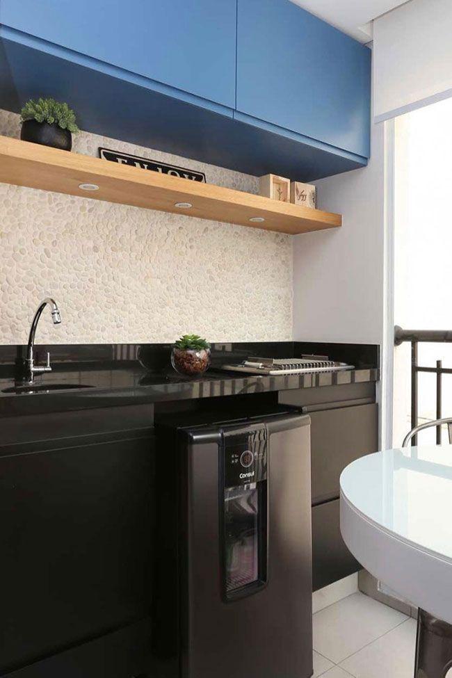 Bancada De Cozinha Preta Com Granito Preto S 227 O Gabriel