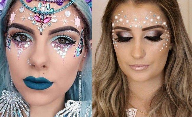 Make-up für Karneval: 76 inspirierende Beispiele für den perfekten Karnevalslook   – Mode & LifeStyle
