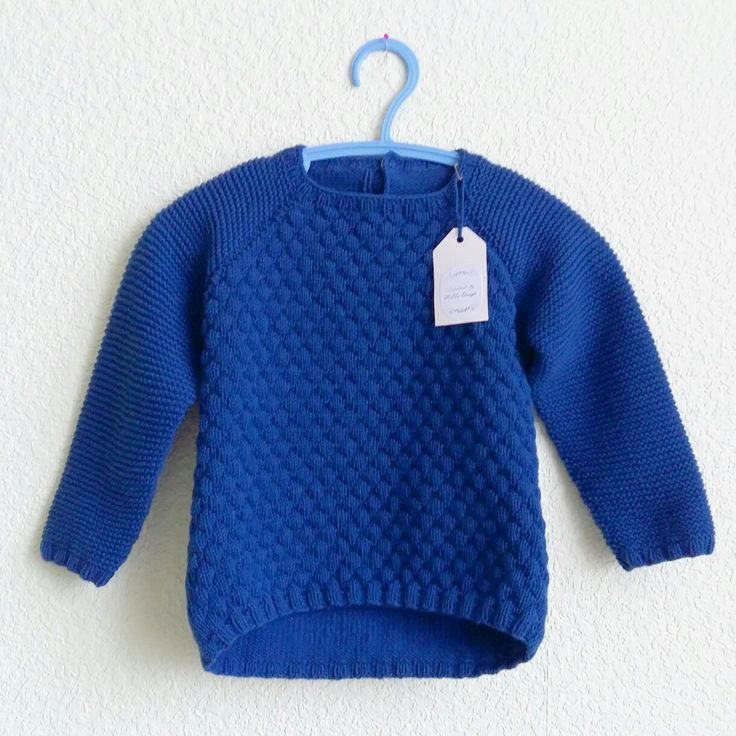Детский реглан спицами baby knit sweater