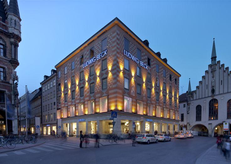 8 best ludwig beck am marienplatz images on pinterest department store munich and bavaria. Black Bedroom Furniture Sets. Home Design Ideas