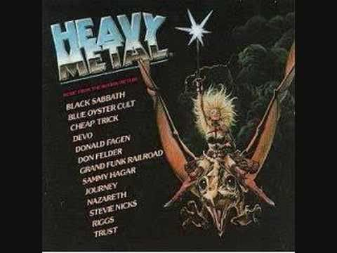 Heavy Metal Soundtrack, my favorite song on it, Blue Lamp by Stevie Nicks