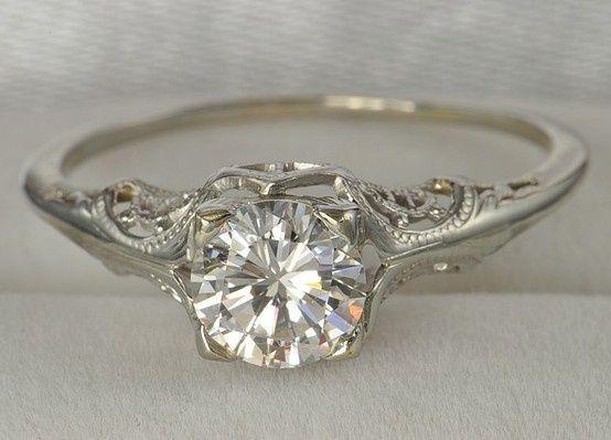 Vintage wedding ring wedding... I adore this ring!!!!