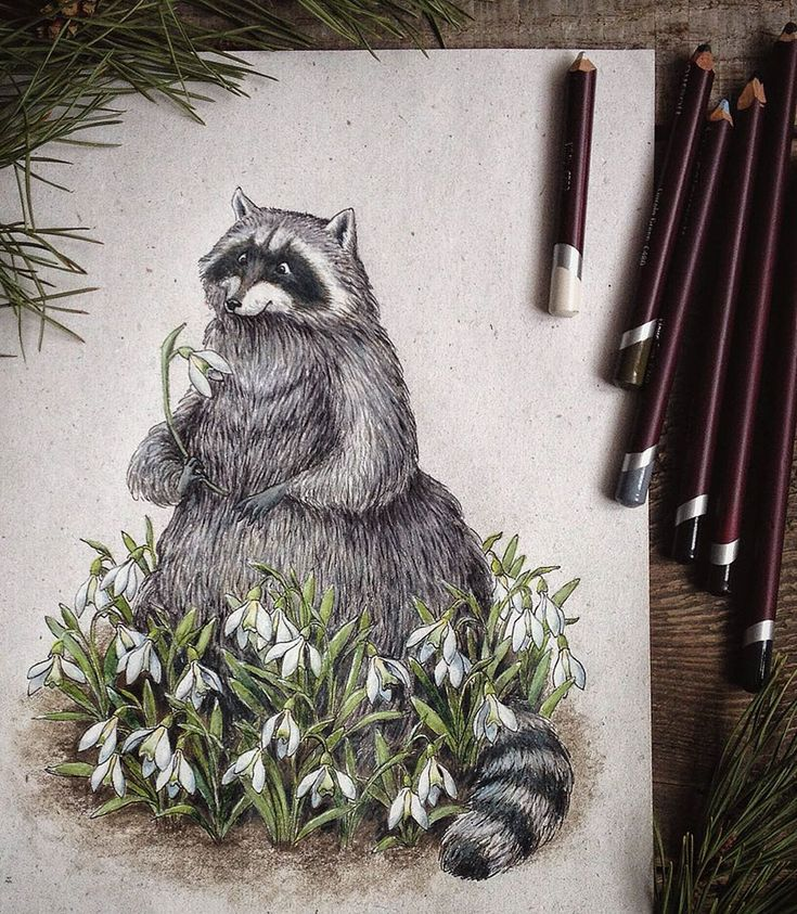 Fairytale-Inspired Color Pencil Drawings By Russian Artist | Bored Panda