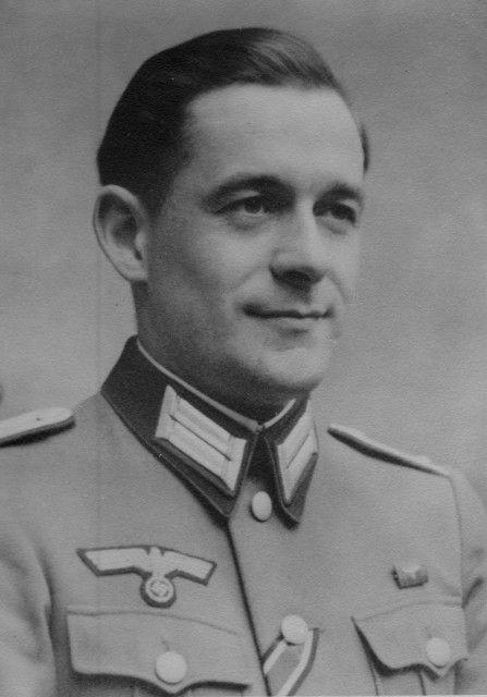 """✠ Hans Sandrock (20 April 1913 - 23 September 1995) RK 18.10.1944 Major Kdr III./Fsch-Pz.Rgt """"HG"""""""
