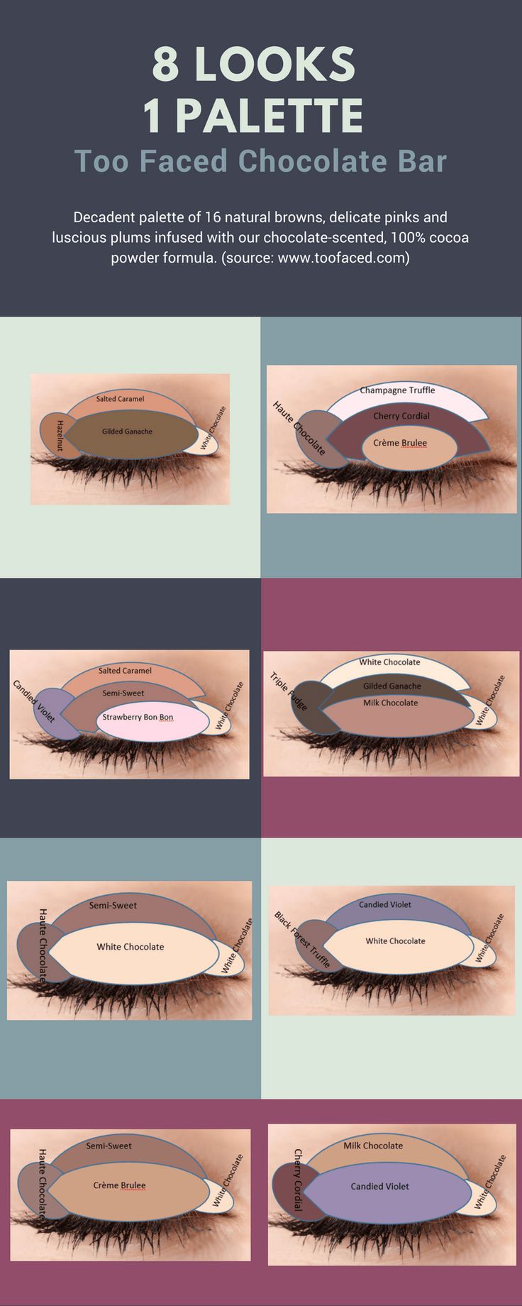 Check out my other 8 looks 1 palette –