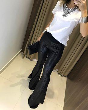O que é essa calça BRASEEEEL?  Calça Isadora {paetê}    Compras on line:  www.estacaodamodastore.com.br