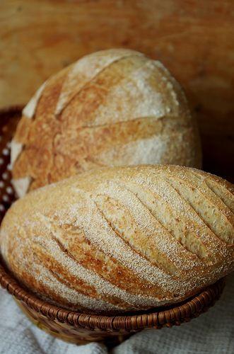 Хлеб с отрубями и маслом