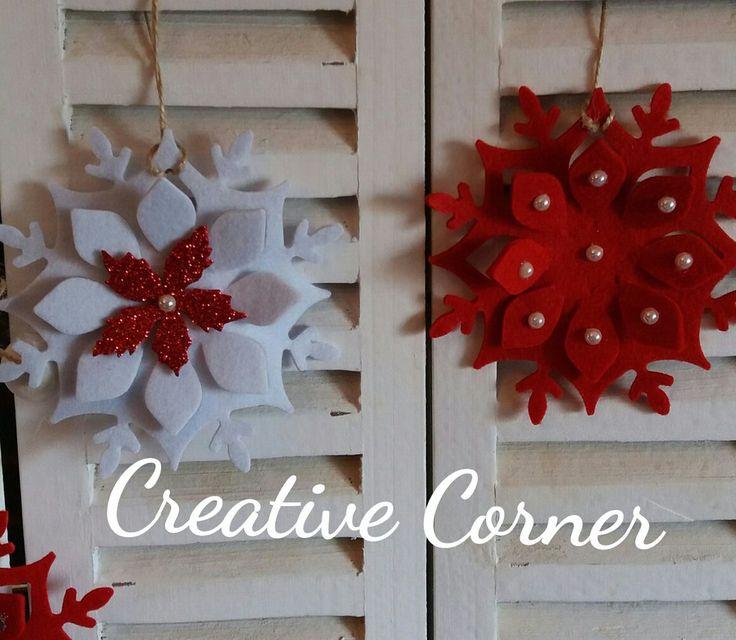 Addobbi natalizi in feltro, by Creative Corner, 6,00 € su misshobby.com