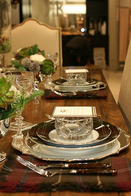 17 best images about beautiful place settings on pinterest Dinner table setting pictures