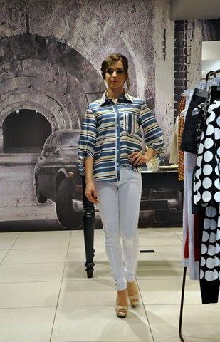 Camicia See by Chloé, pantalone Moschino