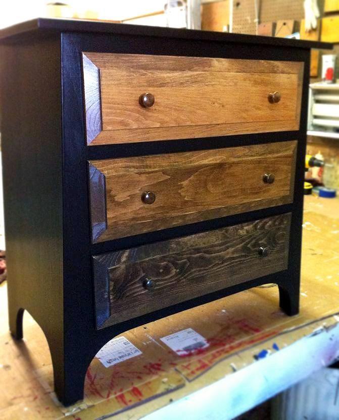 Dark Chocolate Ombre Dresser Design Ideas For Finishing