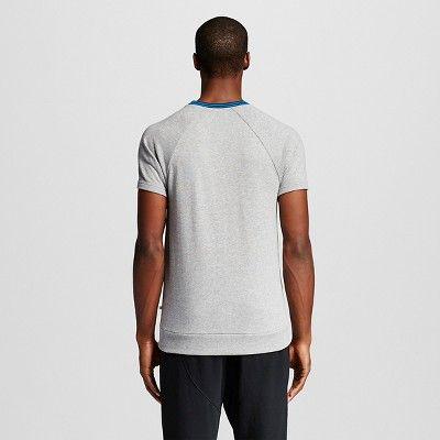 Men's Activewear Sweatshirt Light Gray Heather M - Evolve By 2(x)ist