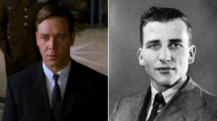 Russell Crowe as John Forbes Nash Jr (A Beautiful Mind, 2001)