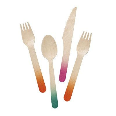 Fiesta cutlery - Ruby Rabbit Partyware