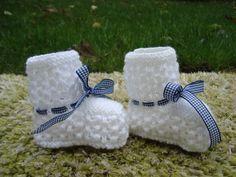 Modèle de chaussons bébé