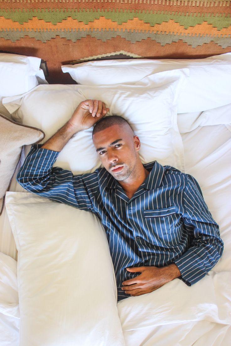 Marks & Spencer Men's Pyjamas Style by MR TURNER / PJ's rock! http://www.mrturner.com.au/in-bed-marks-spencer/