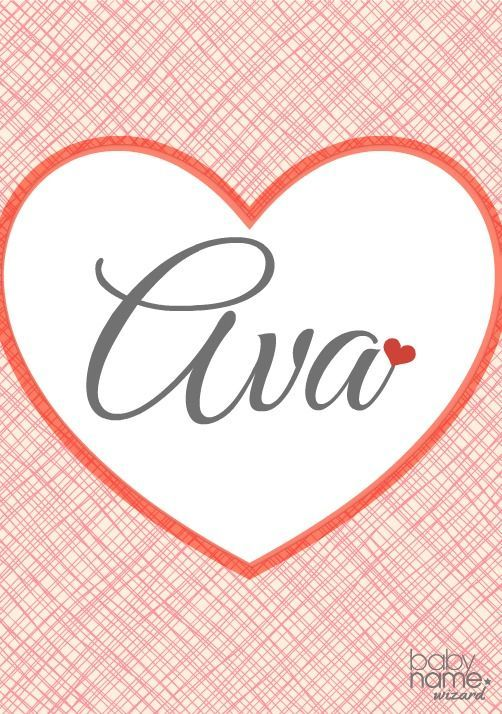 Ava: Meaning, origin, and popularity of the name. You can find this beautiful choice across the globe, worn by girls in Europe, Australia, and North America . It may be short, but it has loads of appeal, and it makes a perfect little palindrome. As the number 5 girls' name in the US, it's not unique, but Ava is truly well-loved.