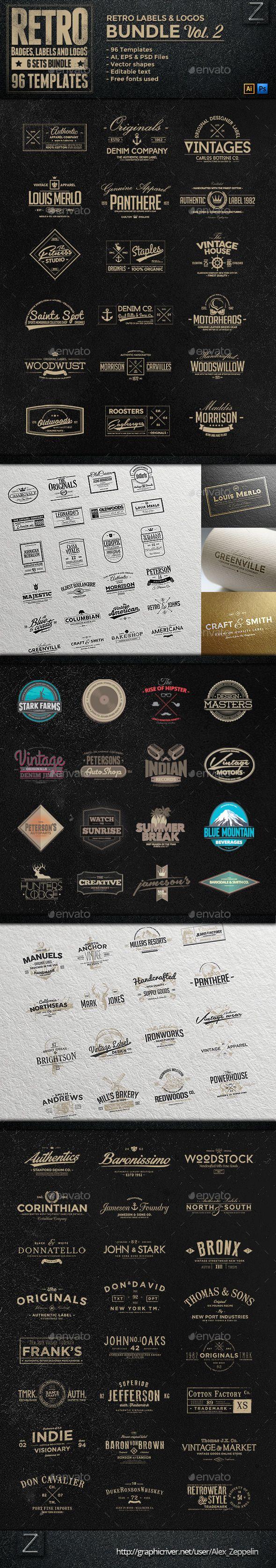 96 Retro Vintage Badges & Labels Bundle | Buy and Download: http://graphicriver.net/item/96-retro-vintage-badges-labels-bundle-vol2/9007614?WT.ac=category_thumb&WT.z_author=Alex_Zeppelin&ref=ksioks