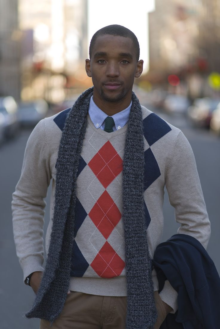 Image result for black person wearing wool sweaters