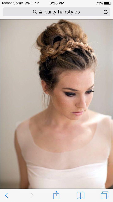 best bridesmaid hair images on pinterest bridal hairstyles
