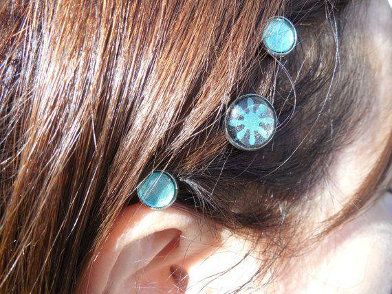 Ensemble de 3 épingles à cheveux 12mm et 8mm par CO2Bijoux sur Etsy