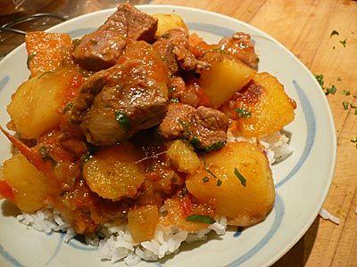 somalian food recipes | How to cook Somali lamb stew