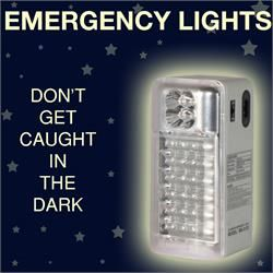 Emergency Lights for Load Shedding