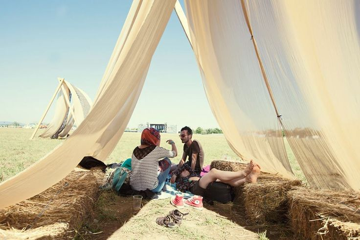 Location design for Airfield Festival 2015//Sibiu//Romania. The festival is happening on an airfield and there's a lot of flying and floating around:) foto: Iulia Dumitru