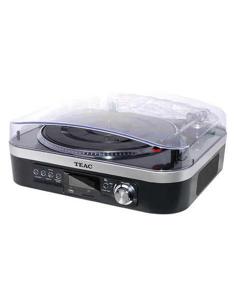Enjoy the best of both worlds with the TEAC Turntable Tuner Audio System LPU190. Convert your vinyl collection for playback on any iPod or MP3 device, or connect it to an external Hi-Fi system to use as a standalone audio player.