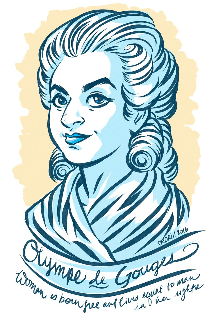 #100Days100Women Day 28: Olympe de Gouges Badass French revolutionary, abolitionist, feminist and playwright. She wrote the radical document the Declaration of the Rights of Woman and the Female Citizen.  She was later executed during the Reign of Terror for criticizing the Revolutionary government.  https://en.wikipedia.org/wiki/Olympe_de_Gouges