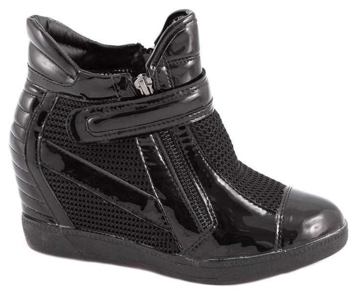 Sneakers Dama - Sneakers negri de dama A-39N - Zibra