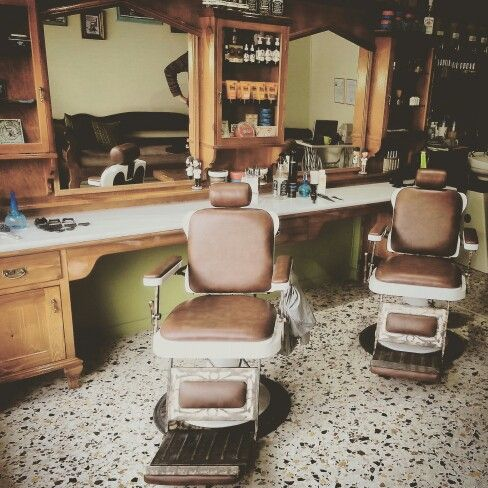 My new barber chair! ♡