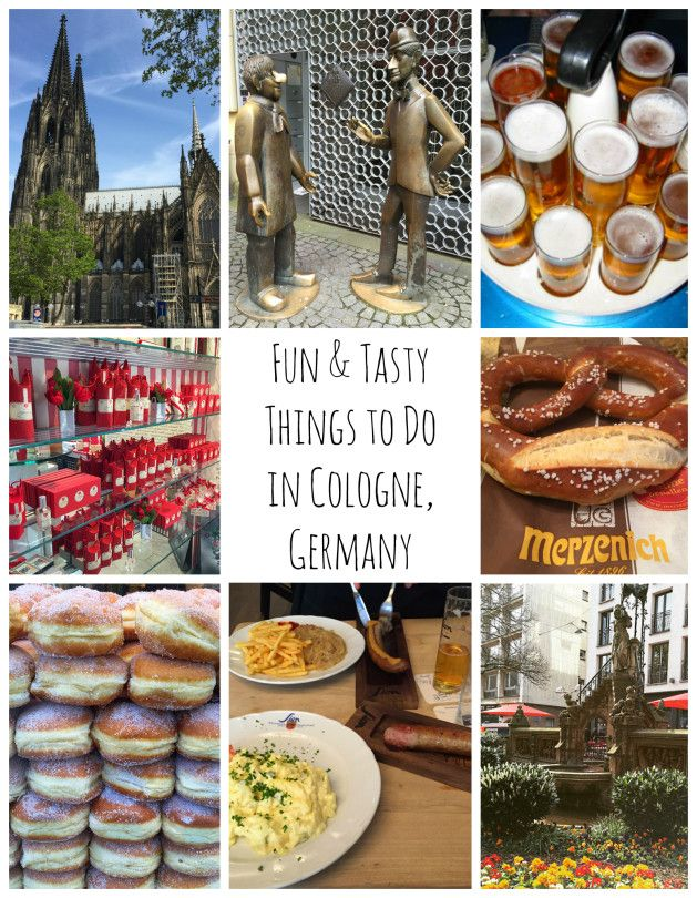 Fun & Tasty Things To Do in Cologne, Germany