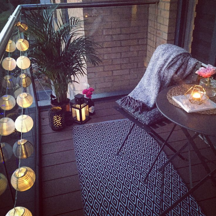 Outdoor balcony decor